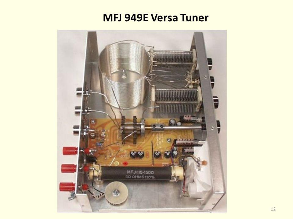 MFJ 949E Versa Tuner 12