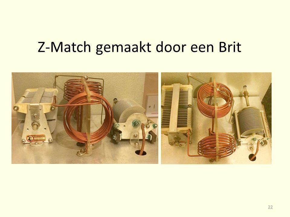 Z-Match gemaakt door een Brit 22