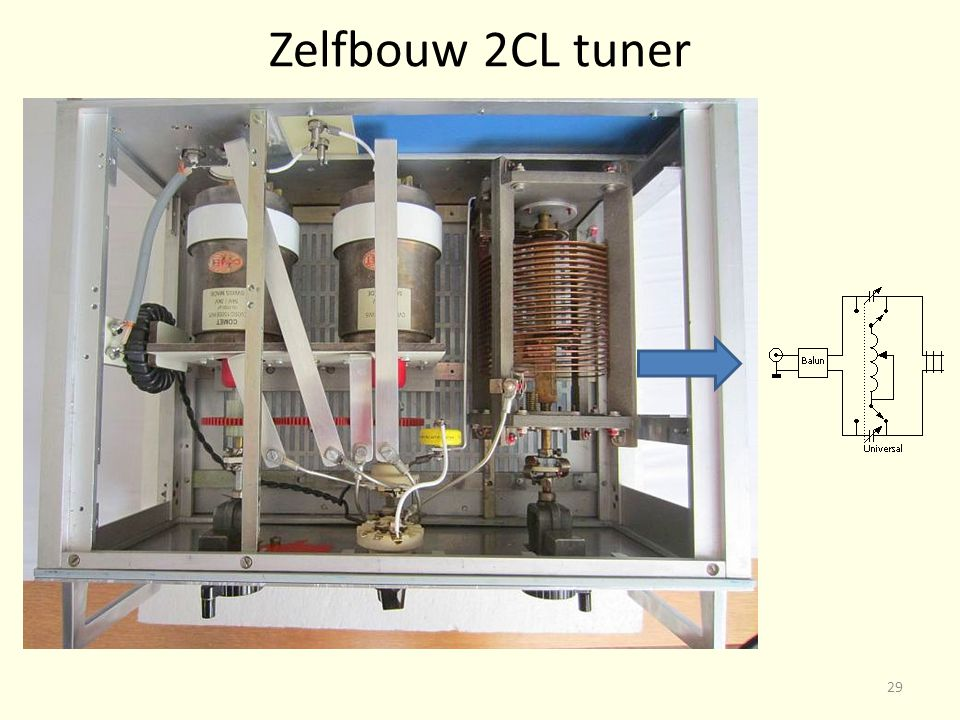 Zelfbouw 2CL tuner 29