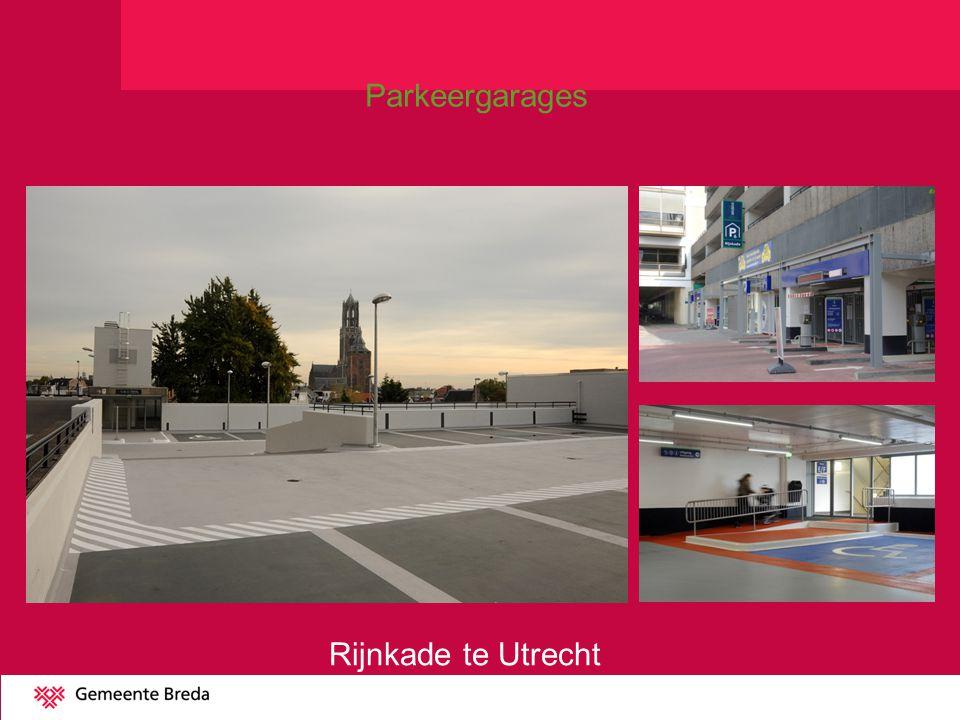 Rijnkade te Utrecht Parkeergarages