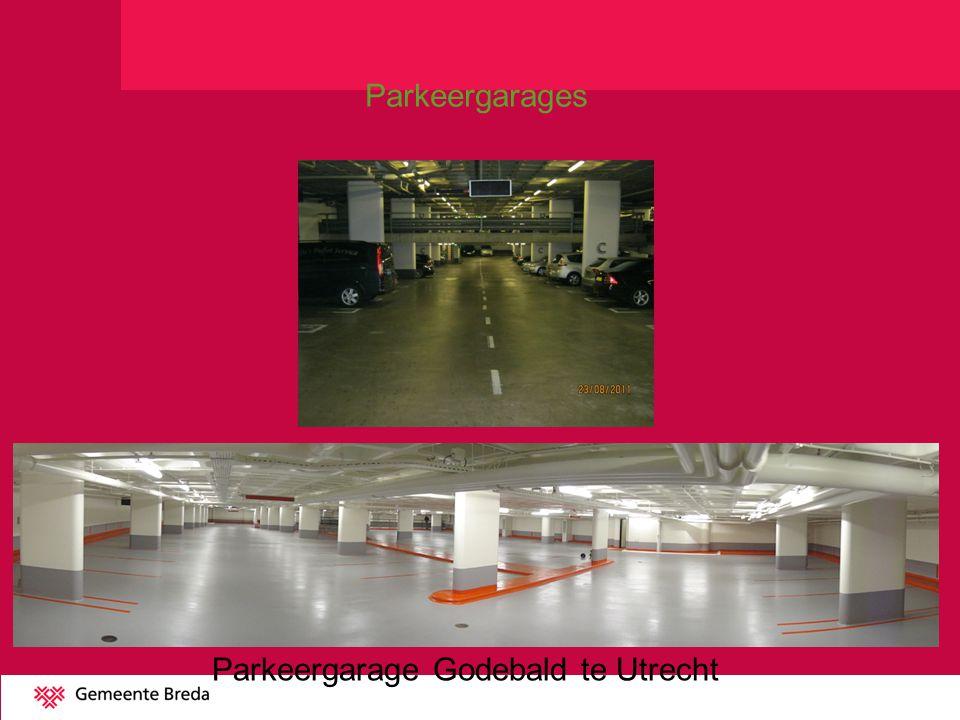 Parkeergarage Godebald te Utrecht Parkeergarages