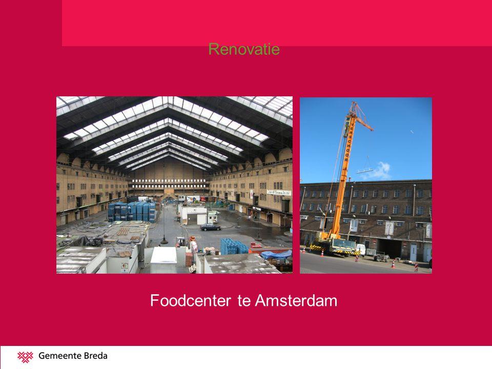 Foodcenter te Amsterdam Renovatie