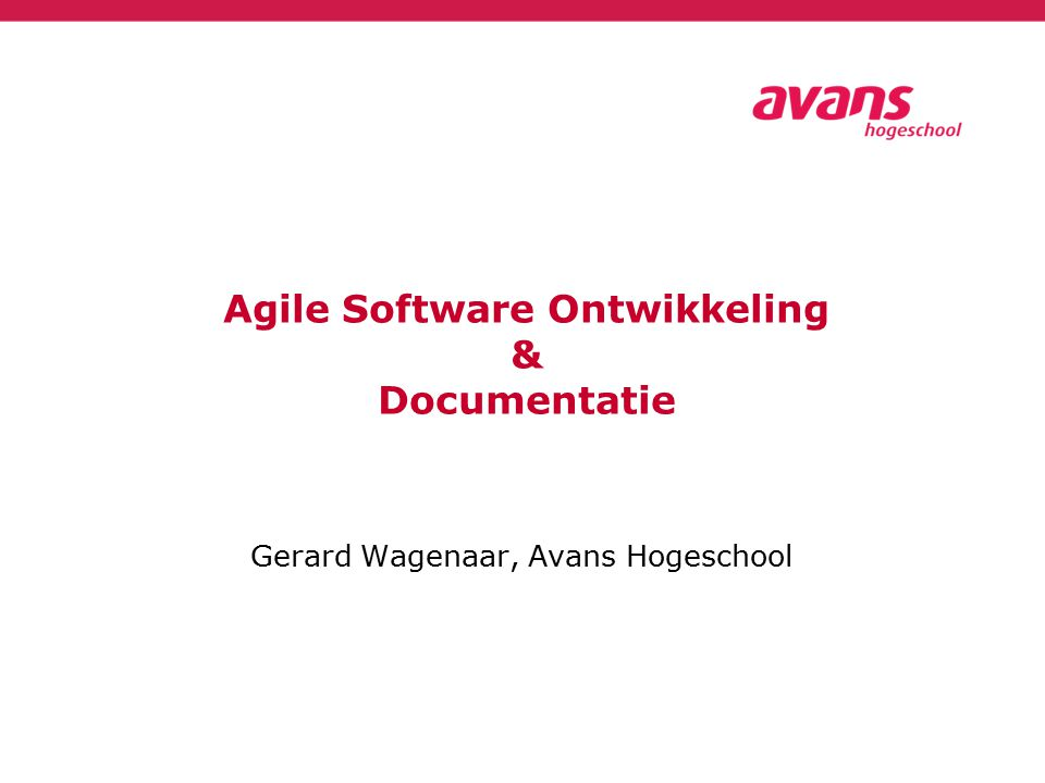 INHOUD  Introductie  Agile systeemontwikkeling  Scrum & Documentatie: De principes  Scrum & Documentatie: De praktijk  Conclusies  Q & A Software Development 202012 juni 2015