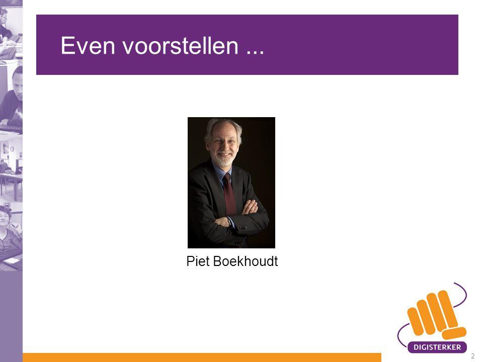 Even voorstellen... Piet Boekhoudt 2