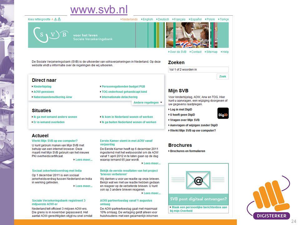 www.svb.nl 24