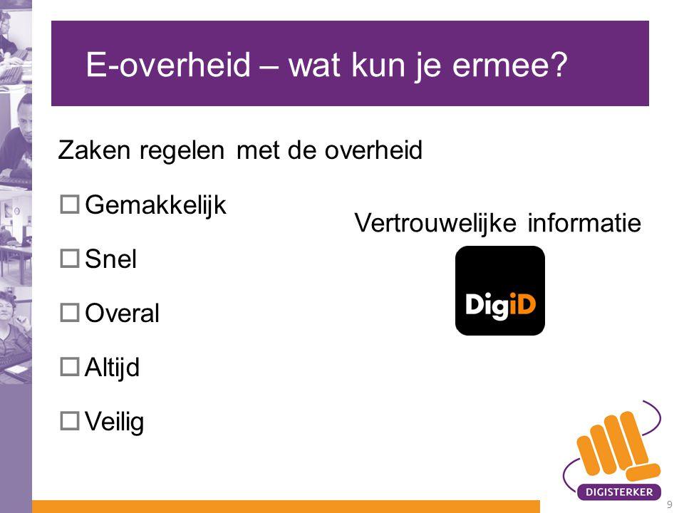 www.digid.nl 20