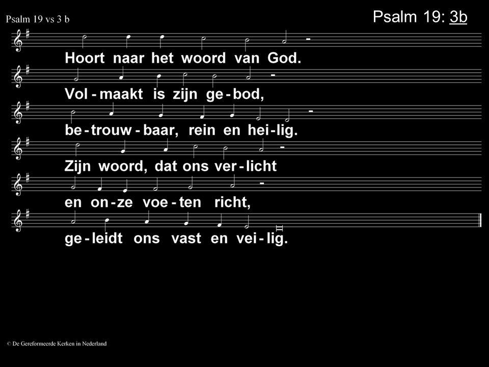 Psalm 19: 3b