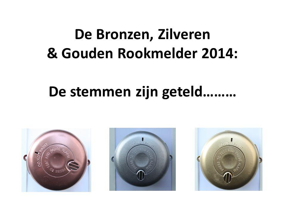 De Bronzen, Zilveren & Gouden Rookmelder 2014: De stemmen zijn geteld………