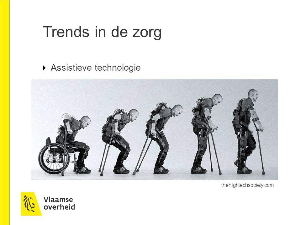 Trends in de zorg Assistieve technologie thehightechsociety.com