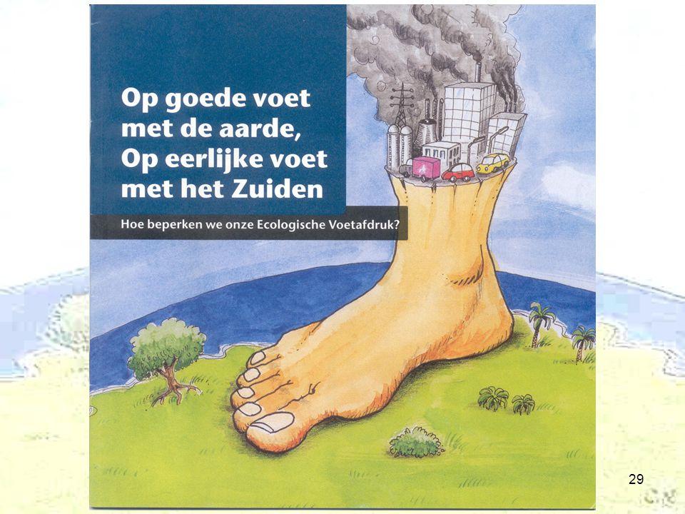 De ecologische voetafdruk29