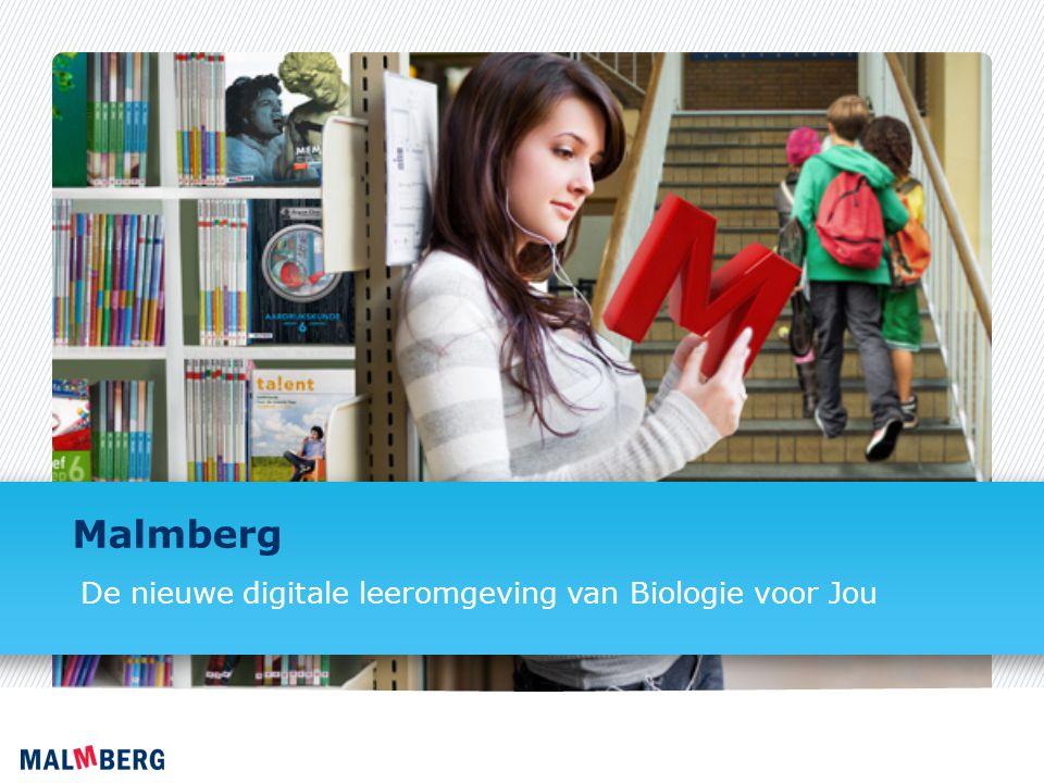 Malmberg De nieuwe digitale leeromgeving van Biologie voor Jou