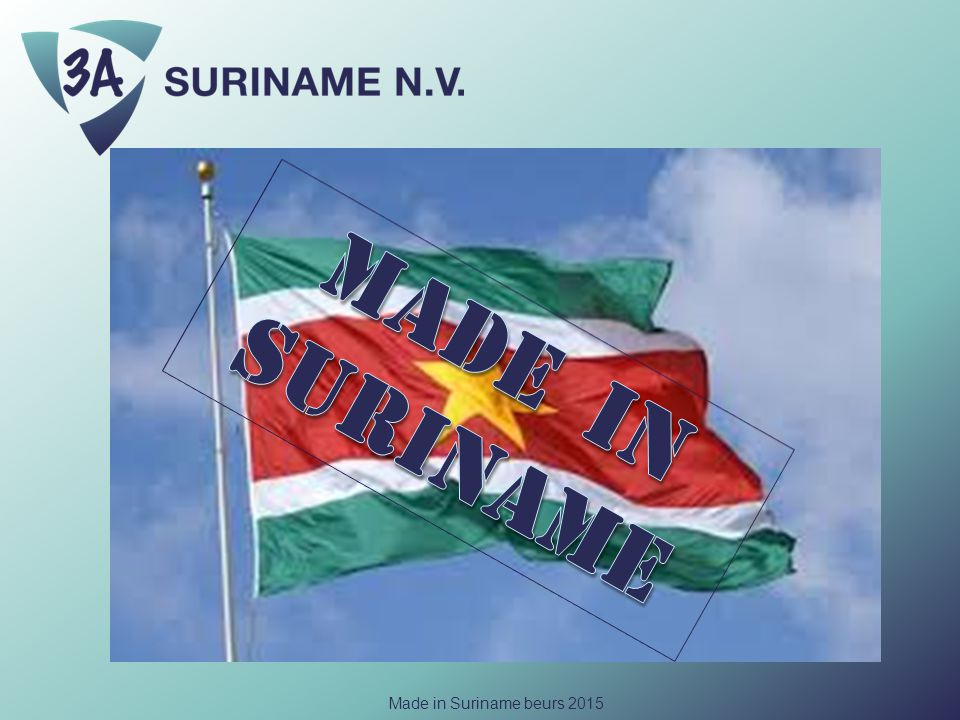 Made in Suriname beurs 2015