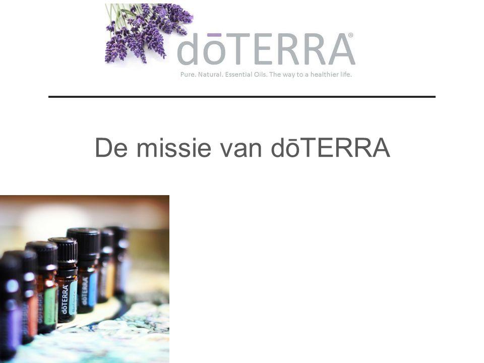 De missie van dōTERRA