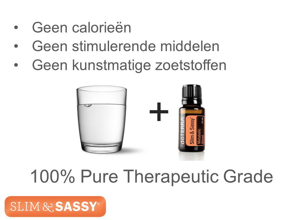 Slim & Sassy ™ Metabolic Blend + Geen calorieën Geen stimulerende middelen Geen kunstmatige zoetstoffen 100% Pure Therapeutic Grade Slim & Sassy ™