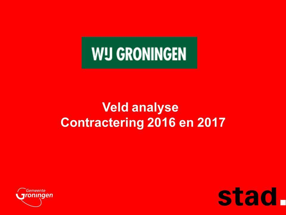Veld analyse Contractering 2016 en 2017