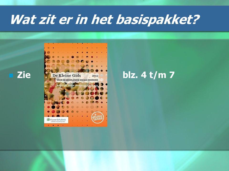 Buitenland Hoofdregel is: de ZVW biedt werelddekking op basis van de basisverzekering Verder situatie bepalende factor Zie verder blz.