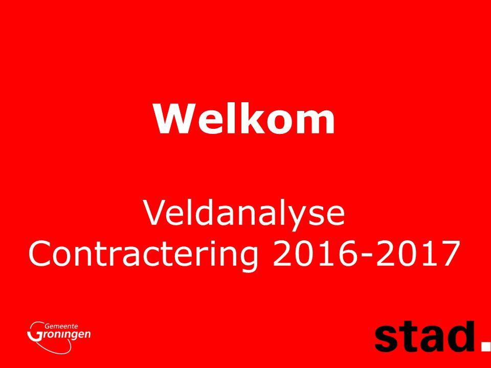 Welkom Veldanalyse Contractering 2016-2017