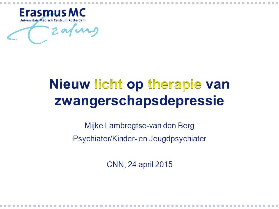 Mijke Lambregtse-van den Berg Psychiater/Kinder- en Jeugdpsychiater CNN, 24 april 2015