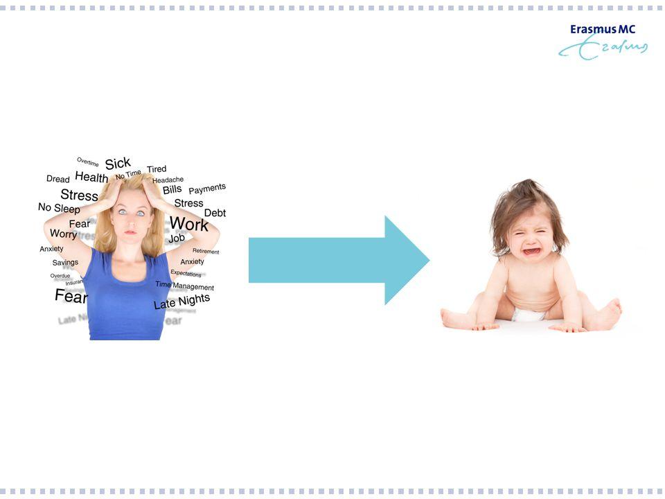 Maternale depressie en gedrag jonge kind adjusted for: maternal age, maternal educational level, maternal and paternal ethnicity, paternal smoking, child birth weight, gender child