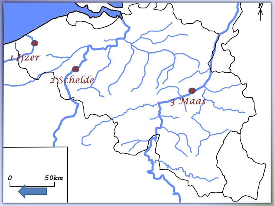 Lesse Maas Samber Ourthe 2 1 3 4 5 6 7 9 8 Ijzer Schelde Dender Zenne Leie