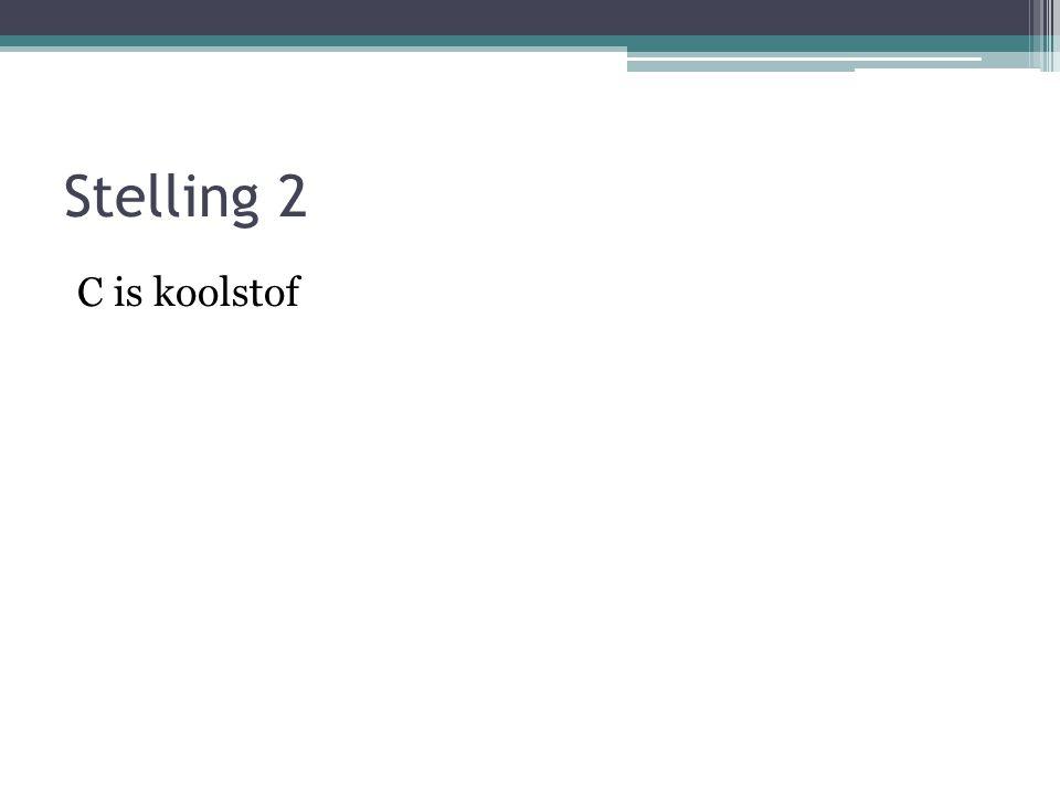 Stelling 1 Een atoom is opgebouwd uit moleculen.