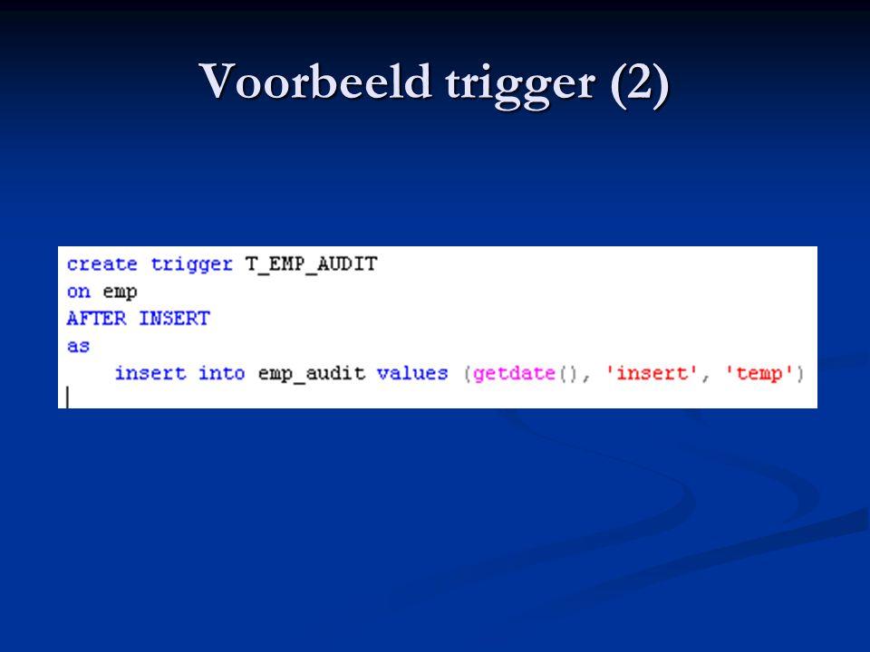 Voorbeeld trigger (2)