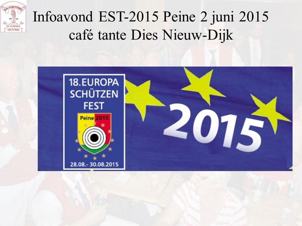 Infoavond EST-2015 Peine 2 juni 2015 café tante Dies Nieuw-Dijk