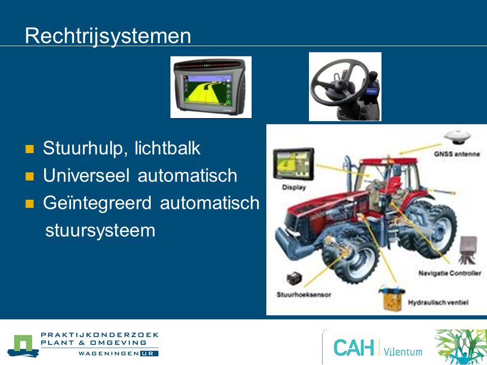 Rechtrijsystemen Stuurhulp, lichtbalk Universeel automatisch Geïntegreerd automatisch stuursysteem