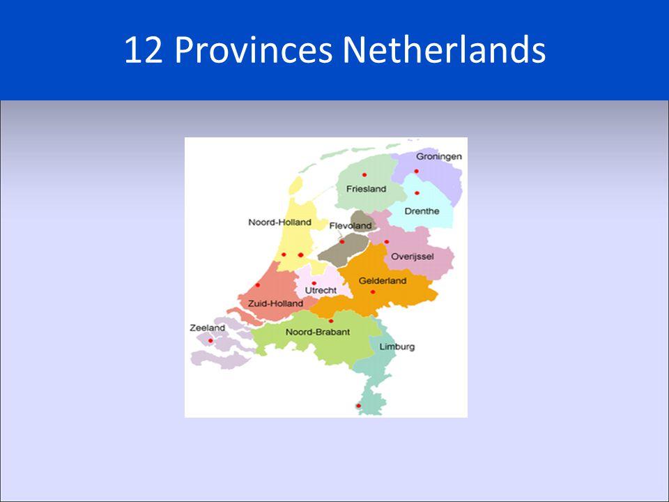 12 Provinces Netherlands