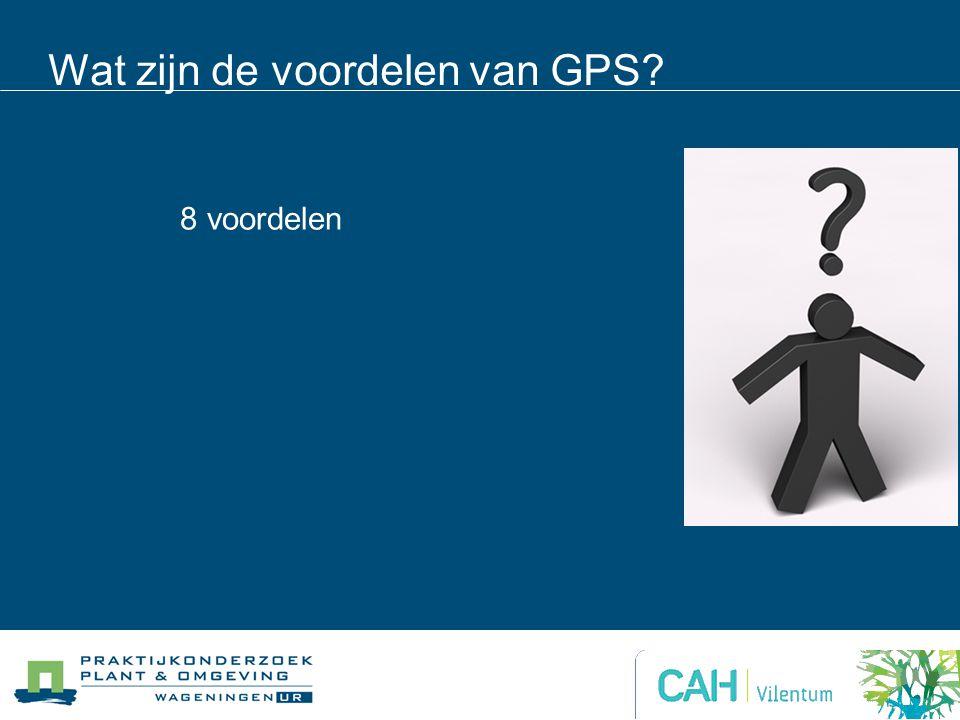 Wat zijn de voordelen van GPS? 8 voordelen