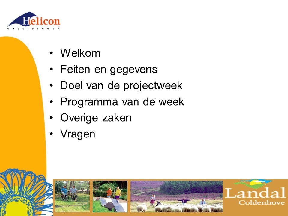 Feiten & gegevens ACCOMODATIE Park Coldenhoven Boshoffweg 6 6961 LD Eerbeek tel.