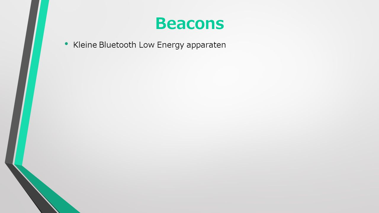 Kleine Bluetooth Low Energy apparaten