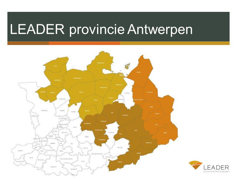 LEADER provincie Antwerpen