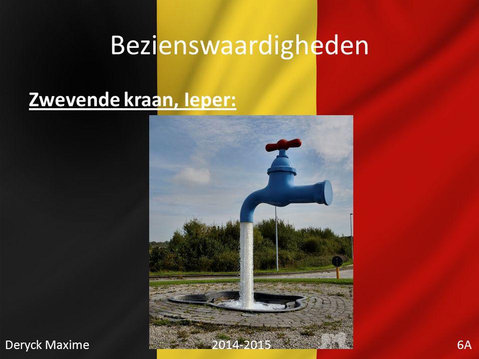 Bezienswaardigheden Zwevende kraan, Ieper: Deryck Maxime 2014-2015 6A