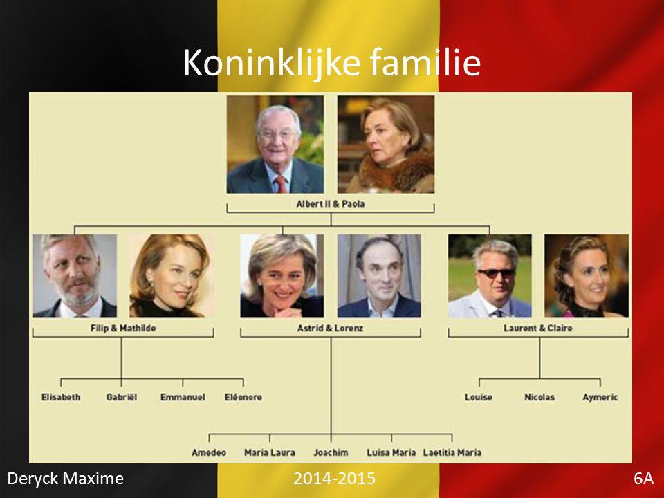 Koninklijke familie Deryck Maxime 2014-2015 6A