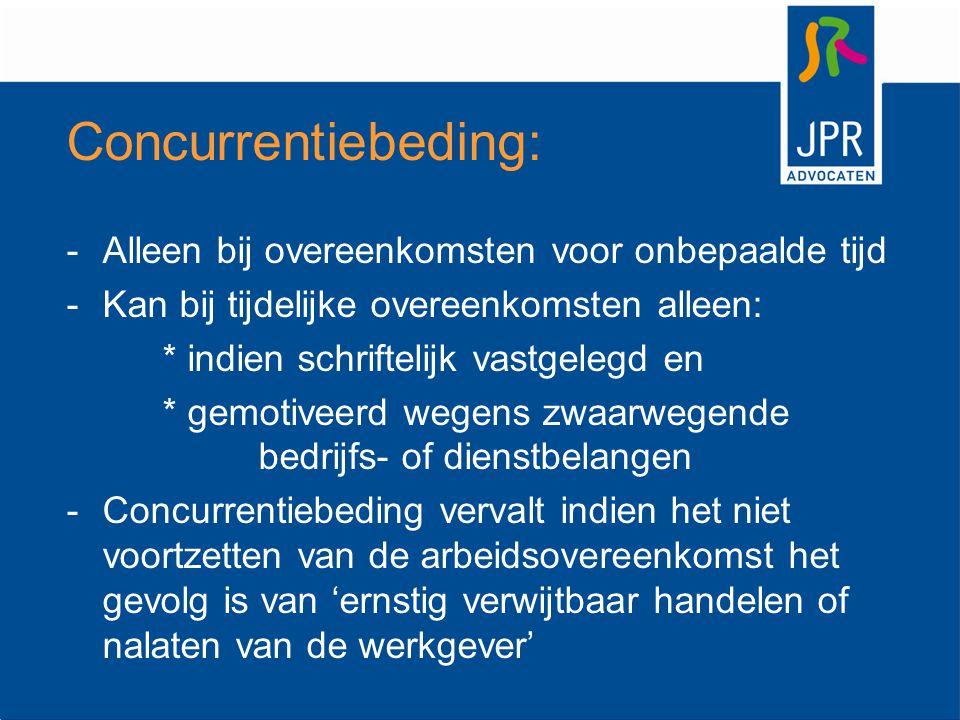 UWV: bij bedrijfseconomisch ontslag of na 2 jaar ziekte Kantonrechter: bij alle overige redenen Let op: mogelijkheid van hoger beroep !!.