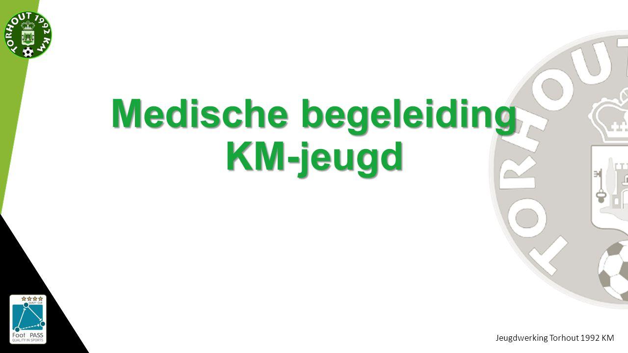 Jeugdwerking Torhout 1992 KM Medische begeleiding KM-jeugd