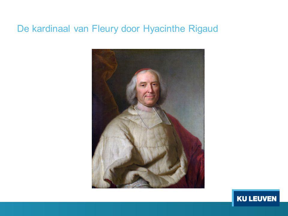 De kardinaal van Fleury door Hyacinthe Rigaud