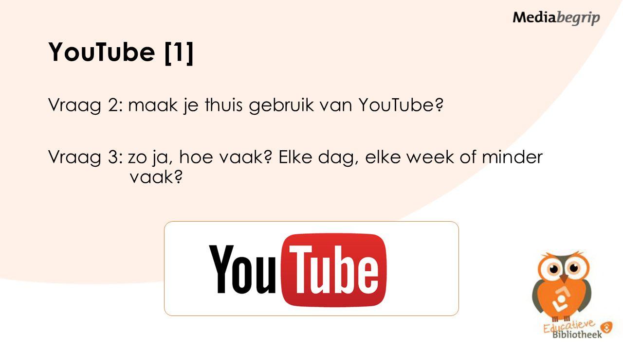 YouTube [2] Vraag 4: wat is er zo leuk aan YouTube.