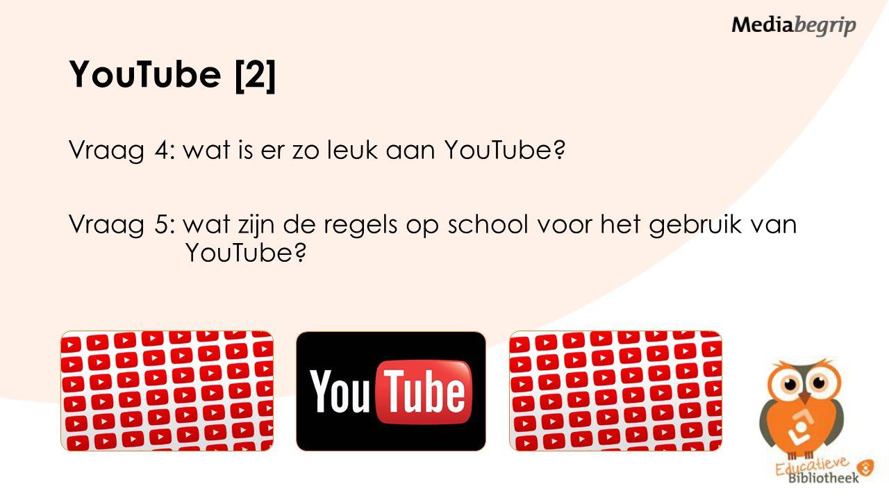 Opdracht 1 Waarvoor is YouTube handig op school (+) en waarvoor is YouTube op school minder handig(-).