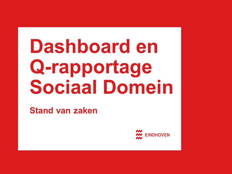 Dashboard en Q-rapportage Sociaal Domein Stand van zaken