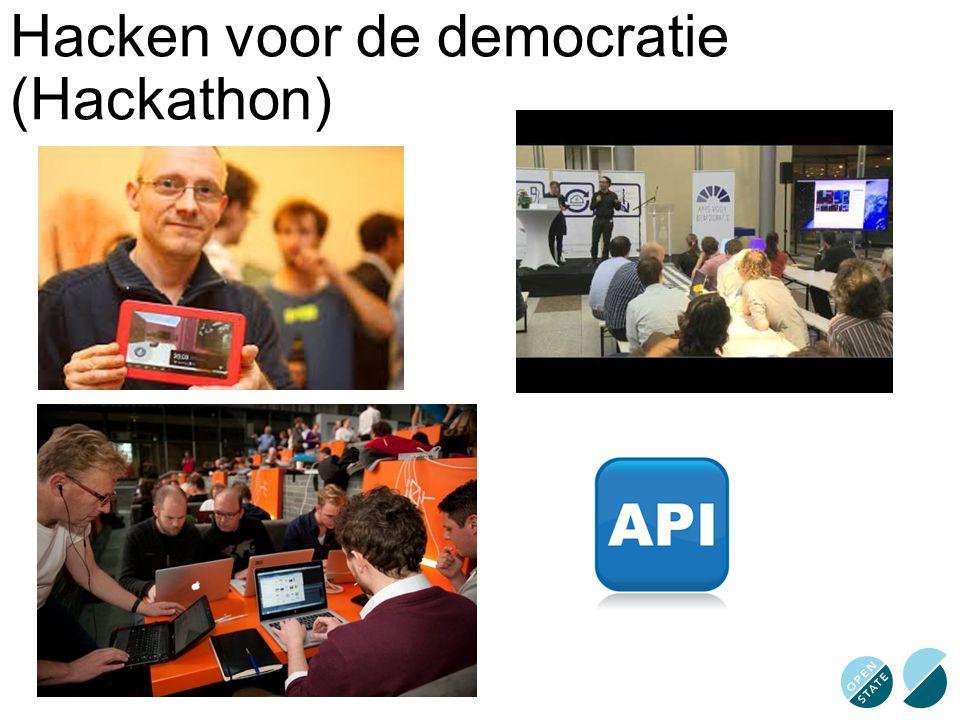 Hacken voor de democratie (Hackathon)