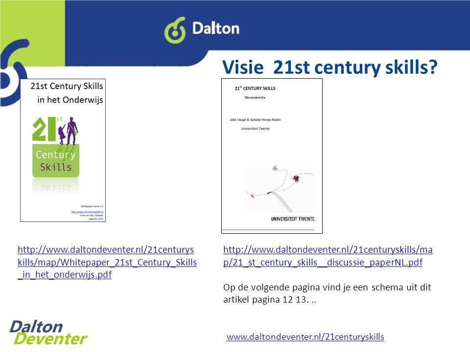 Visie 21st century skills.