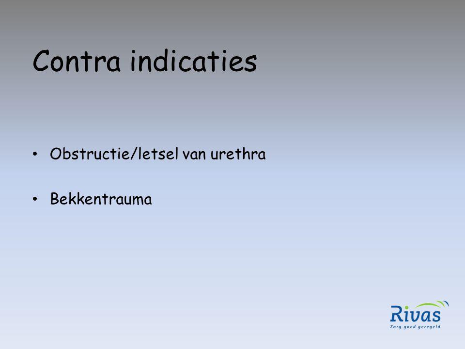 Let op urologisch probleem – Urethrastrictuur – Hypertrofie van de prostaat – Radiotherapie prostaat – TUR P – Anti stolling