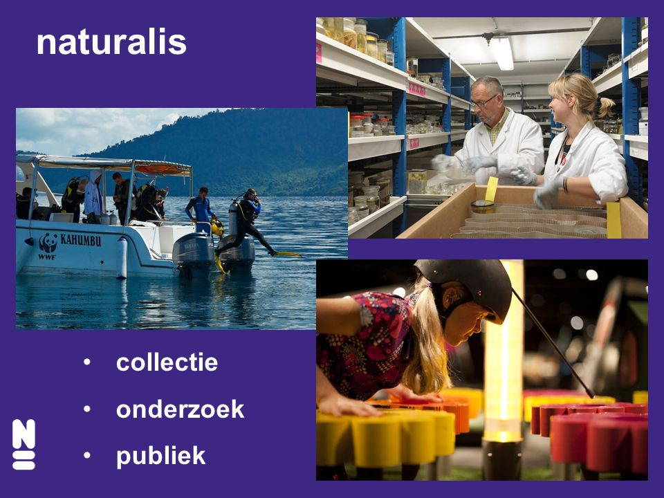 naturalis collectie onderzoek publiek