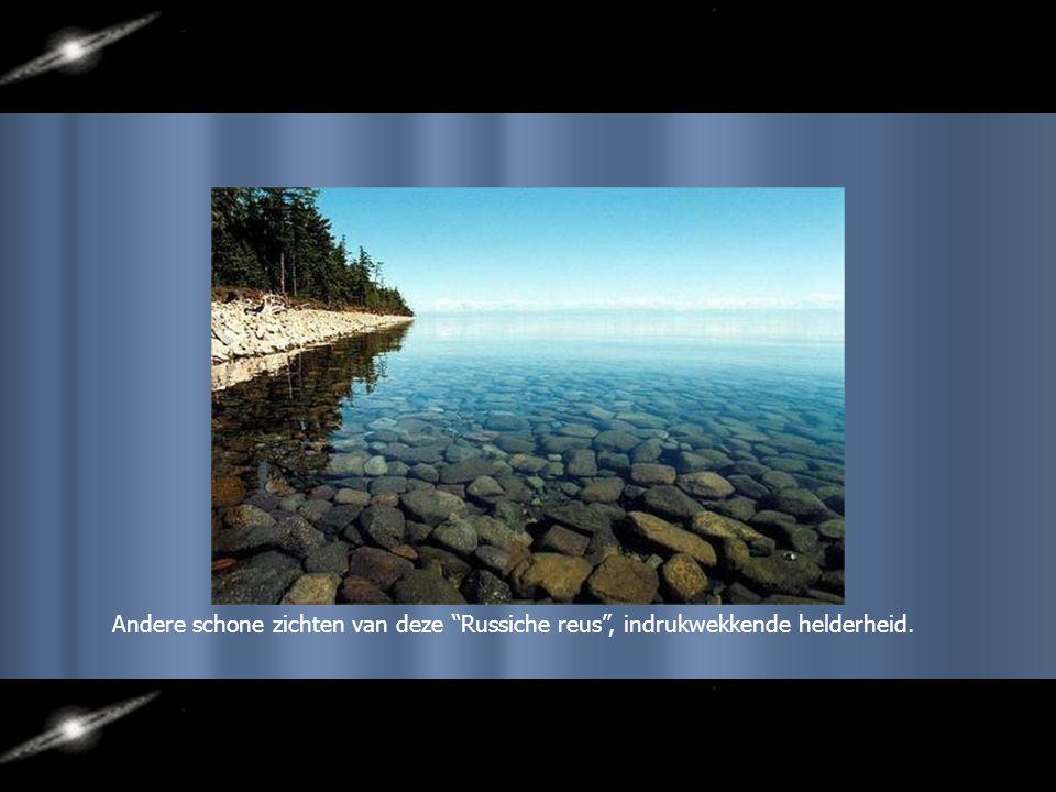 Mooi landschap rond het Baïkalmeer
