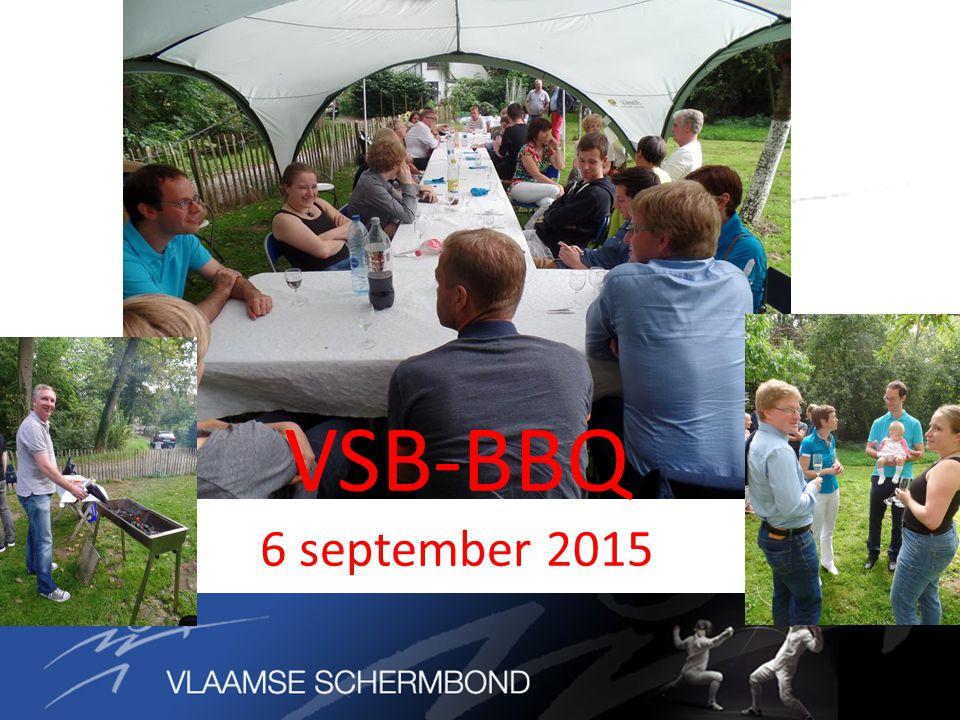 VSB-BBQ 6 september 2015