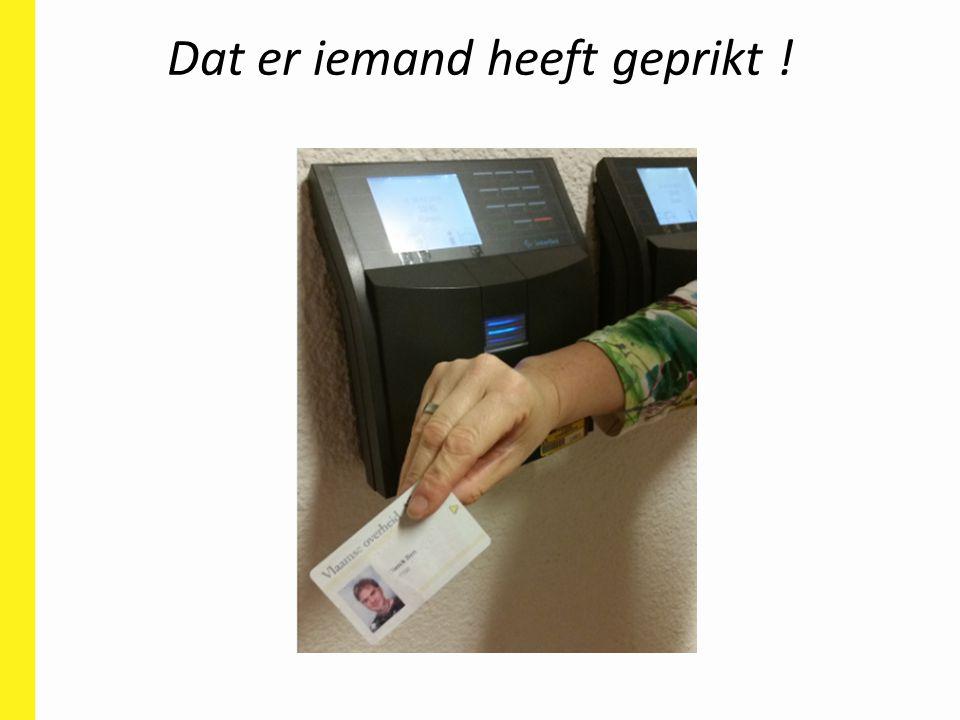 Citaat van een personeelslid Vlaamse overheid: 'De prikklok is in eerste instantie een instrument voor luie leidinggevenden !' ??.