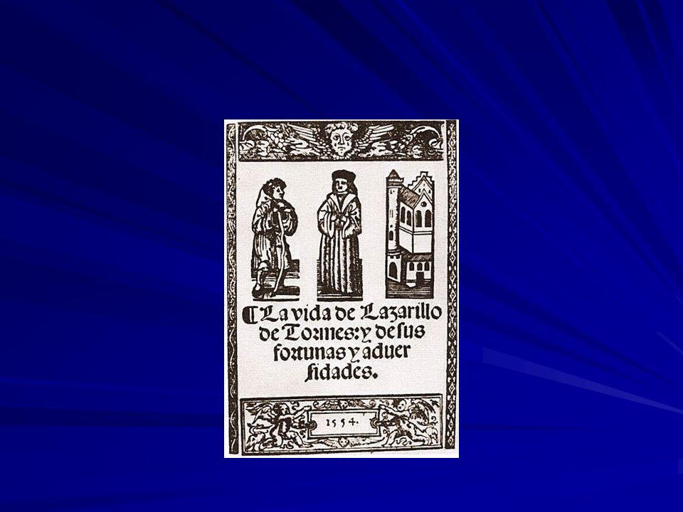 De picareske roman Pícaro = schelm 1554: Lazarillo de Tormes 17 e eeuw: groot aantal zulke teksten + krijgen navolging in de rest van Europa