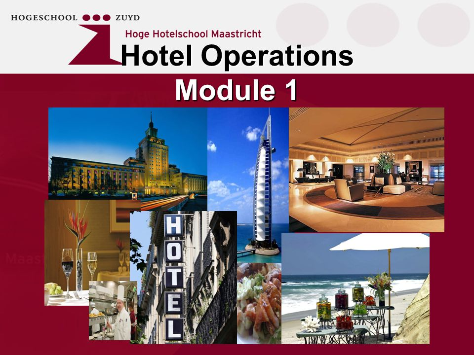 Hotel Operations Module 1